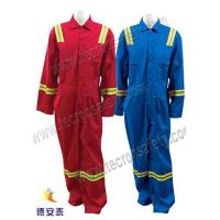 China Heavy Duty FR Cotton Coverall  Heavy Duty Flame Resistant Cotton Coverall on sale