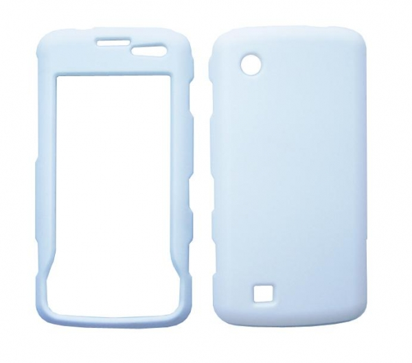 China LG Chocolate Touch VX8575 Rubberized Protector Case,white