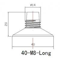 Buy cheap 40mm Long Neck Tube from wholesalers