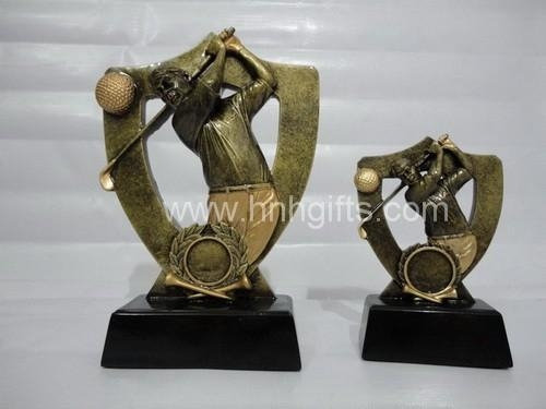 Quality Sport & Trophy Golf sculputure for sale