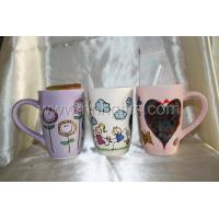 Holiday Gifts Message mug with chalk set of 3 Manufactures