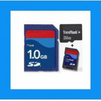 China Sandisk SD memory card 1GB with adaptor on sale