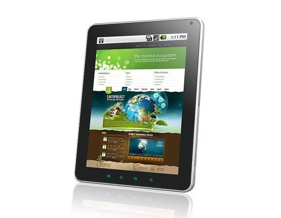 China 9.7inch MID Samsung A8 1GHz CPU Google Android 2.2 tablet PC30