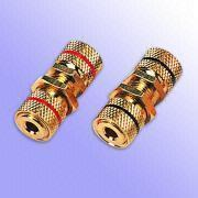 BI-118GG Gold-plated Banana Plug Connectors for 4 to 6mm Cables Manufactures