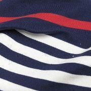 YJ-0098 Stripe French Terry Fabric, Made of 100% Cotton Yarn Dye Materials Manufactures