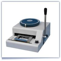 China Dog tag embossing machine on sale