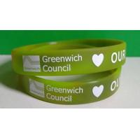 silicone wristbands with printed message Manufactures