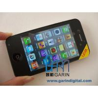 China 3.5 inch 100% copy apple iPhone 4 clone Dual Sim mobile phone with WIFI,JAVA on sale