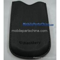 Buy cheap blackberry 8100 8110 8130 leather case original bb-ac-63 from wholesalers
