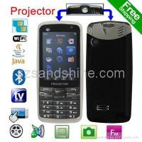 Free Shipping 2.4 WiFi JAVA TV FM eBook Projector Phone P780 Manufactures