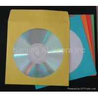 China CD Sleeves Color Paper CD Sleeves on sale