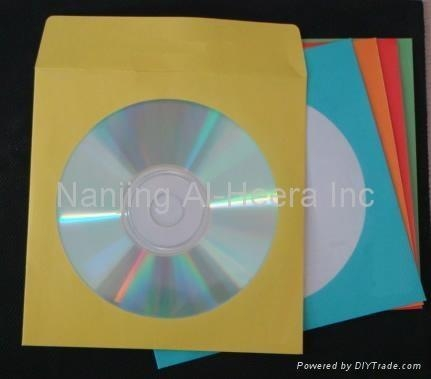 Quality CD Sleeves Color Paper CD Sleeves for sale