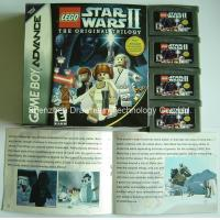 GBA game card- Lego Star wars 2 Manufactures