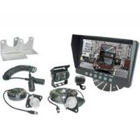 China Security surveillance systems with 7-inch sunvisor rear monitor for trailers on sale