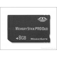 China wholesale 8GB Sony Memory Stick Pro Duo Card on sale