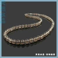 tea-coloured crystal necklace Manufactures