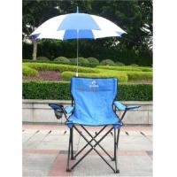 China camping chair with umbrella on sale