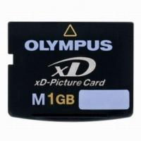 China Memory Card Olympus XD Olympus XD Picture card 1GB on sale
