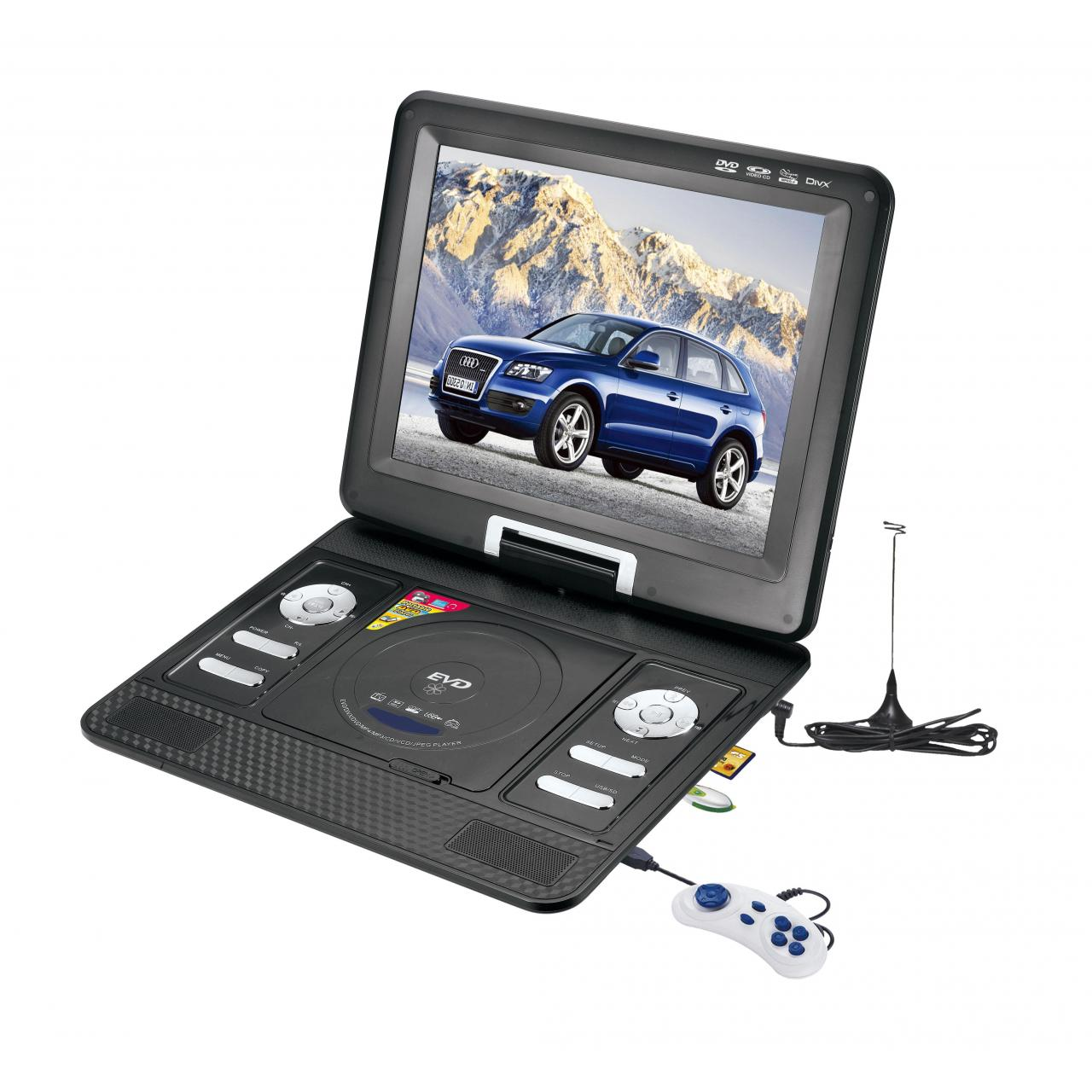 12.5 inch portable DVD NS-1268 Manufactures