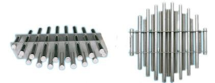 Quality round trapezoid 2 layers19 tubes magnetic force frame for sale
