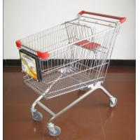 Shopping trolley advertising display stand (LS-A100) Manufactures