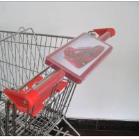 Trolley handle advertising sign frame,ad sign holder,ad sign board (LS-A101) Manufactures