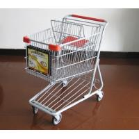 Shopping cart advertising sign frame,sign holder,display stand (LS-A100) Manufactures