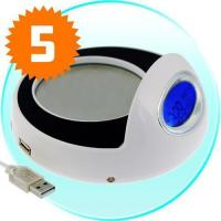China Cup Warmer and USB Hub with Clock on sale