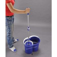 made in china 360 rotating super spining hand press mop Manufactures