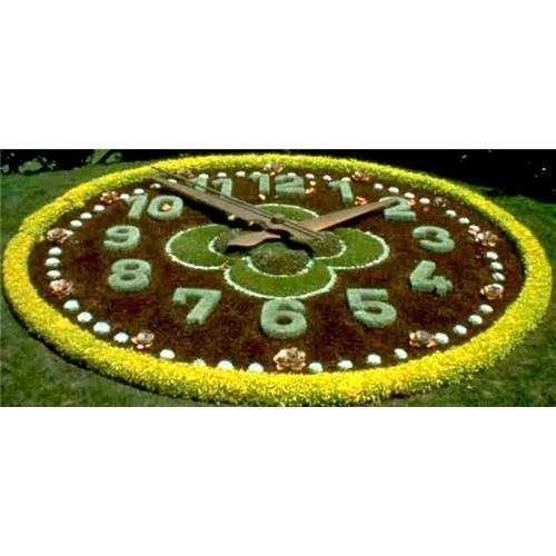 Quality SellFlower-bed clock; clock, flower clock, garden clock for sale