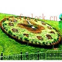 China Flower-bed clock; clock, flower clock, garden clock wholesale