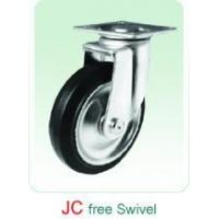 JC Swivel Rubber Castor without noise
