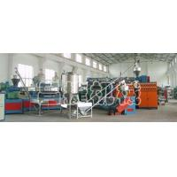 PE, PP plastic building templates production line