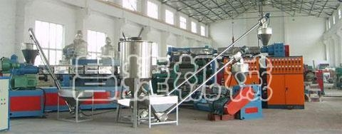 Quality PE, PP plastic building templates production line for sale