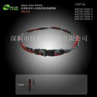Two-color mesh necklace Manufactures