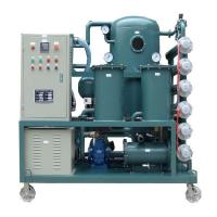 Single stage Vacuum Insulation oil purifier/transformer oil refinery plant