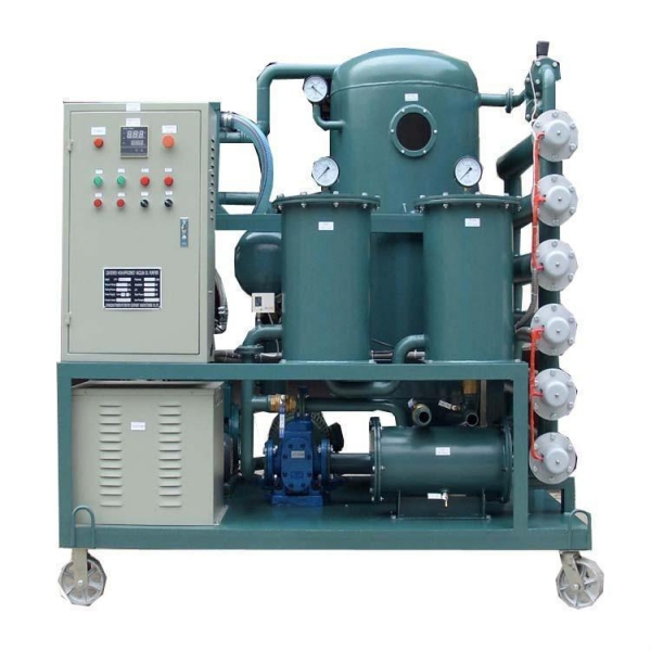 Quality Single stage Vacuum Insulation oil purifier/transformer oil refinery plant for sale