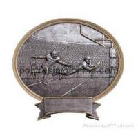 polyresin sports trophy, trophy awards magnet, wall plaque Manufactures