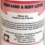 China Neem Hand and Body Lotion on sale