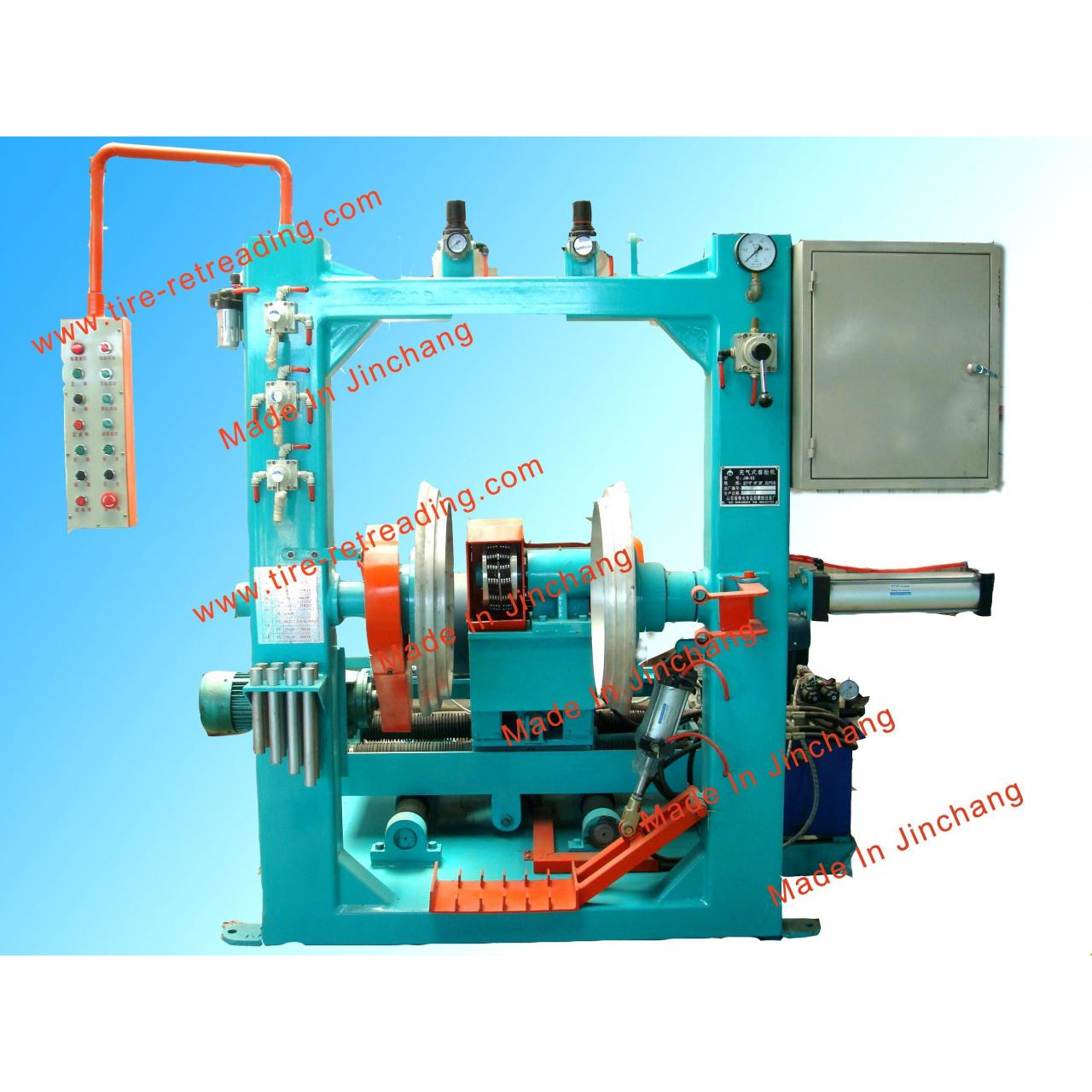 Buy cheap cold tire retreading equipment-Tire buffing machine from wholesalers
