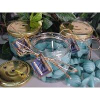 China Relaxation Aromatherapy Scented Gel Wax Candle in Preserve Jar 10 Oz on sale