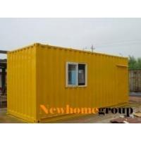 China Steel container prefabricated house on sale