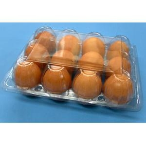 Quality PET Old Fashion 4 x 3 Egg Cartons, w/o Label for sale