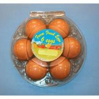 Quality Ovotherm Glass Clear Starpack 6-Egg Carton, w/Label for sale