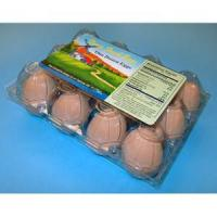 PET Old Fashion 4 x 3 Egg Cartons, w/Label Manufactures