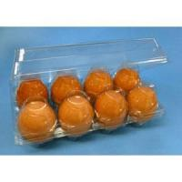 Tri-Fold Clear Plastic 8-Egg Cartons Manufactures