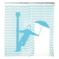 Buy cheap Kikkerland Singin' In The Rain Shower Curtain, 72 by 72-Inch from wholesalers