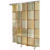 Buy cheap Ex-Cell Home Fashions Mosaic Fabric Shower Curtain, Terracotta from wholesalers
