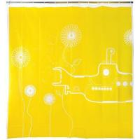 Buy cheap Kikkerland Yellow Submarine Shower Curtain, 72-Inch by 72-Inch from wholesalers