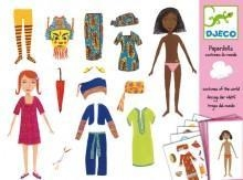 China Arts & Crafts Djeco Paper Dolls- Costumes Of The World